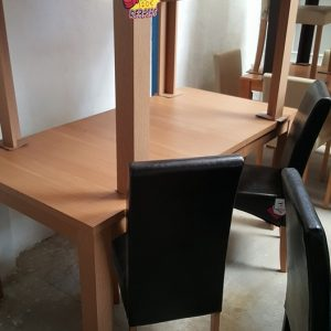 Extendable oak colour dining tables 120€ each