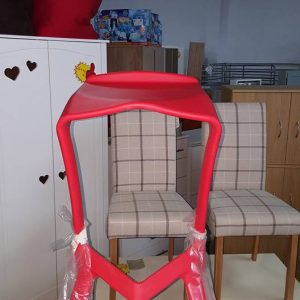 New solid moulded barstools 45€