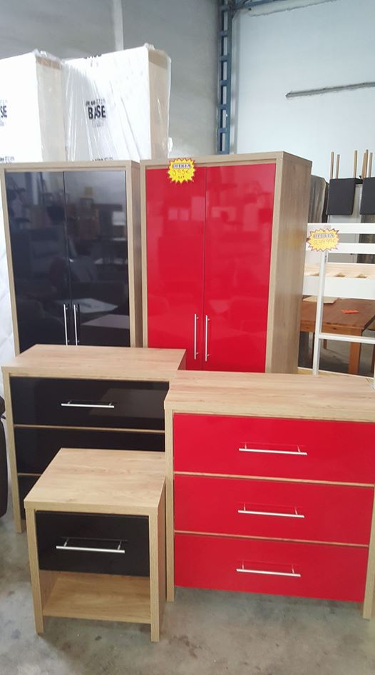 New seville bedroom set only 395eur global discount for Seville bedroom furniture
