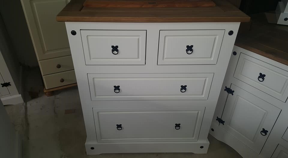 white chest of drawers only 225 new corona white 2 2 chest of drawers