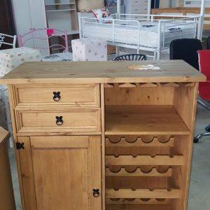 NEW Corona wine rack sideboard 249.99