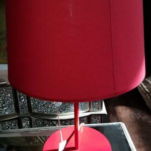 NEW Elegant red lamp ONLY 24.99