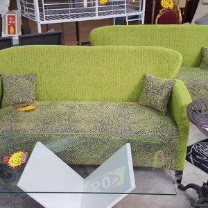 NEW 2+2 green fabric sofa set ONLY 225€ each