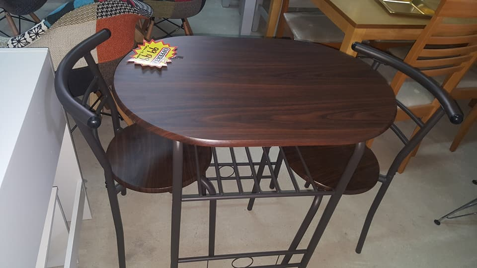 New kitchen table 2 chairs only global discount for Kitchen table only