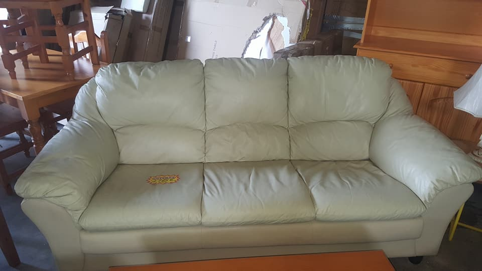 Used sofa set for Used leather sofa set
