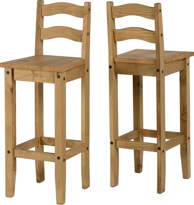 New Corona Pine Bar Chairs Only 99 Each