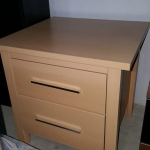 NEW 2 drw bedside chest ONLY 55€