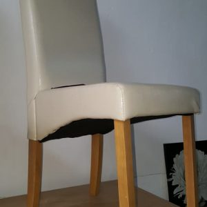 NEW CREAM SKIRTED DINING CHAIRS 39.99€ EACH