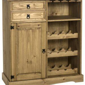 corona pine sideboard and wine rack 259.99