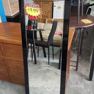 NEW BLACK BEVELLED MIRROR ONLY 49.99€