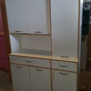 large white kitchen cabinet 145€