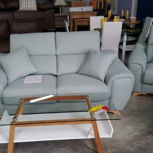 new pastel green fabric sofa only 795