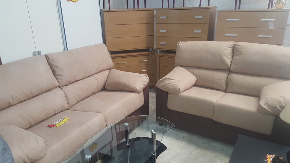 New 3 2 Cream Brown Sofa Set Only 595