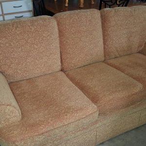 3 seat floral fabric sofa 100€
