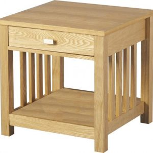 NEW ASHMORE 1 DRAWER LAMP TABLE ONLY 139.99 EUROS