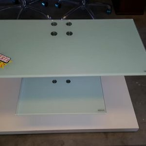 EX DISPLAY GLASS TV UNIT 75