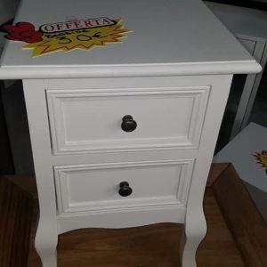 new 2 drawer elegant bedside 30