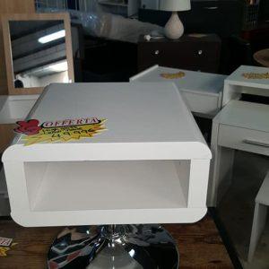 new high gloss white modern lamp table 49.99