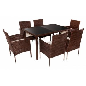 COLOMBIA 7 PIECE RATTAN SET 695