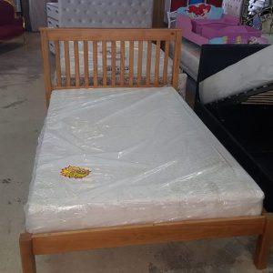 new 4ft bed incl mattress 295€