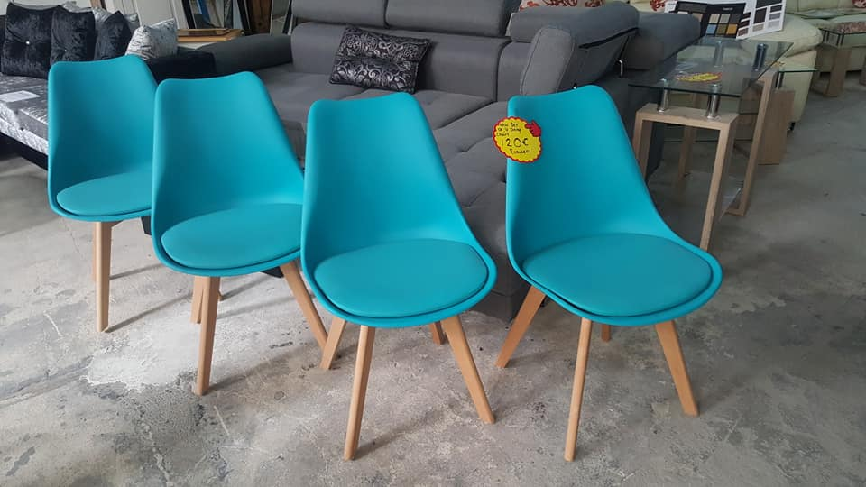 set of 4 chairs 120