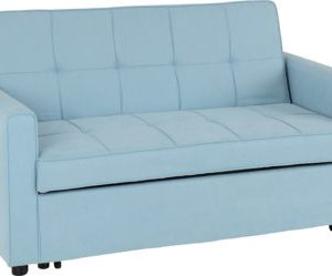Astoria light blue sofa bed 745€