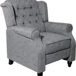 BALMORAL-RECLINING-CHAIR-GREY-FABRIC 495€