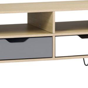 BERGEN-2-DRAWER-COFFEE-TABLE-OAK-EFFECT-WHITEGREY 149.99