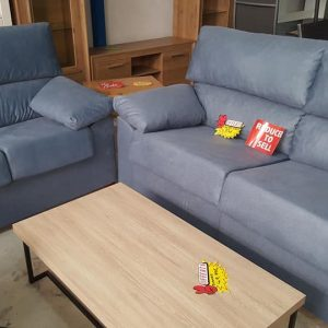 695 euros blue grey