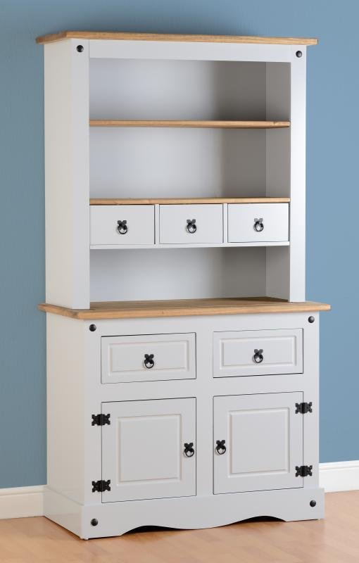 New Country Style Corona Grey Dresser Only 395 Global