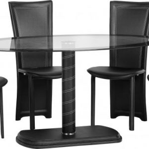 cameo oval dining table 4 chairs 425