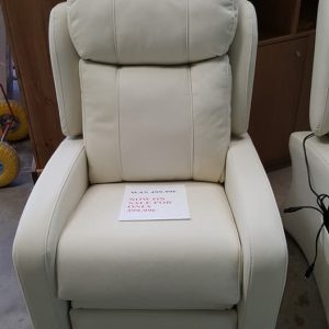 new leather micro manual reclining armchair 399.99