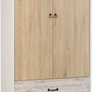 MED_NORDIC_2_DOOR_2_DRAWER_WARDROBE_WHITEDISTRESSED_EFFECT 249.99